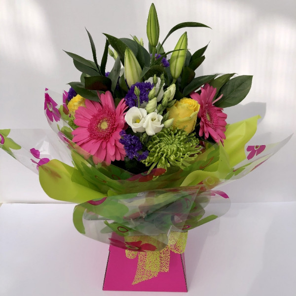 Florist's Choice Hand Tied in Water